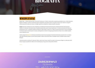 Magda Zając – Biografia
