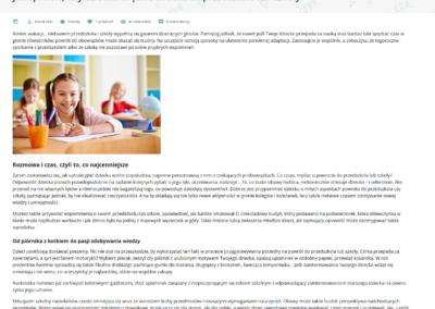 Kocot Kids – artykuł o adaptacji przedszkolnej i szkolnej dziecka